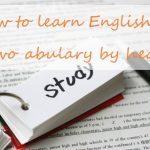 【英語初心者必見!】効率的な単語暗記法を留学経験者がご紹介!